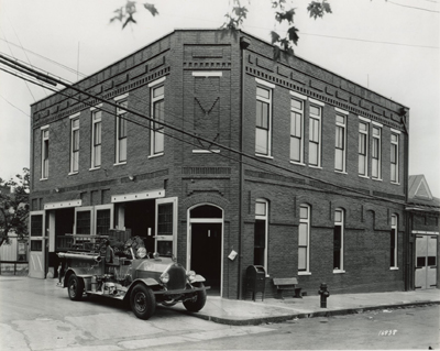 Firehouse 2 1907 - 1951. Firehouse 2 was originally built for the Friendship Fire Company 3. When the department went fully paid in 1907, the volunteers disbanded and this firehouse was renamed firehouse 2.