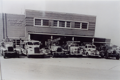 Firehouse 10 1950 -1974. Firehouse 10 was originally located at 55 Noble Avenue SE. In 1974 a new firehouse 10 was built and this firehouse was renamed firehouse 2.