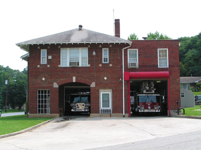 Firehouse 7 1922 - Present. Firehouse 7 was built as a single bay firehouse and housed and engine. In 1950, firefighters along with Roanoke City built on the right side bay to house a ladder truck. The firehouse is located at 1742 Memorial Avenue SW.