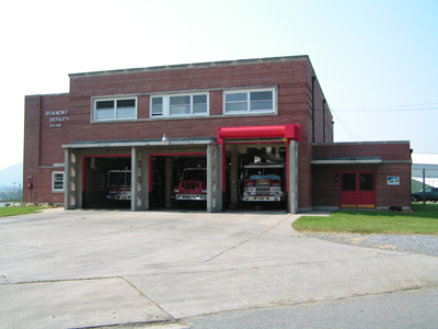 Firehouse 2 was built in 1950, although it was originally firehouse 10. This became Firehouse 2 in 1974 when the new station (#10) was built at Roanoke Regional Airport. This firehouse is located at 55 Noble Avenue NE.