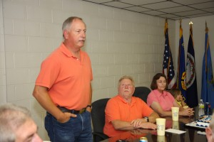 Jim Hylton talking about Chief Slayton