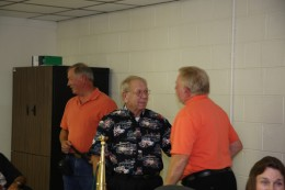 Jim Hylton, Chief Patton (Ret.), and Chief Bobby Slayton