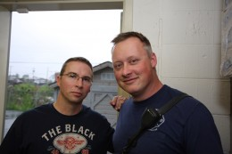 Tim Jordan and Kevin Bradbury...I thought their pic was worth the post!